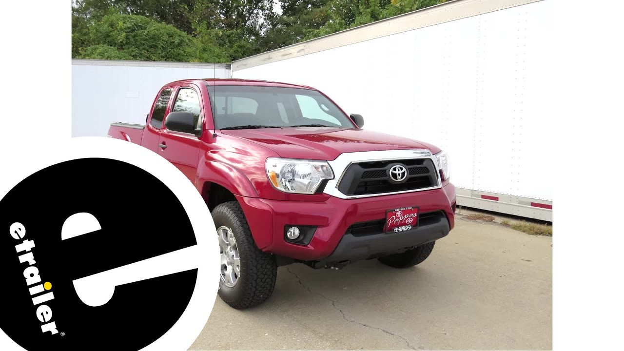 best 2014 toyota tacoma trailer wiring options etrailer com youtubebest 2014 toyota tacoma trailer wiring options etrailer com