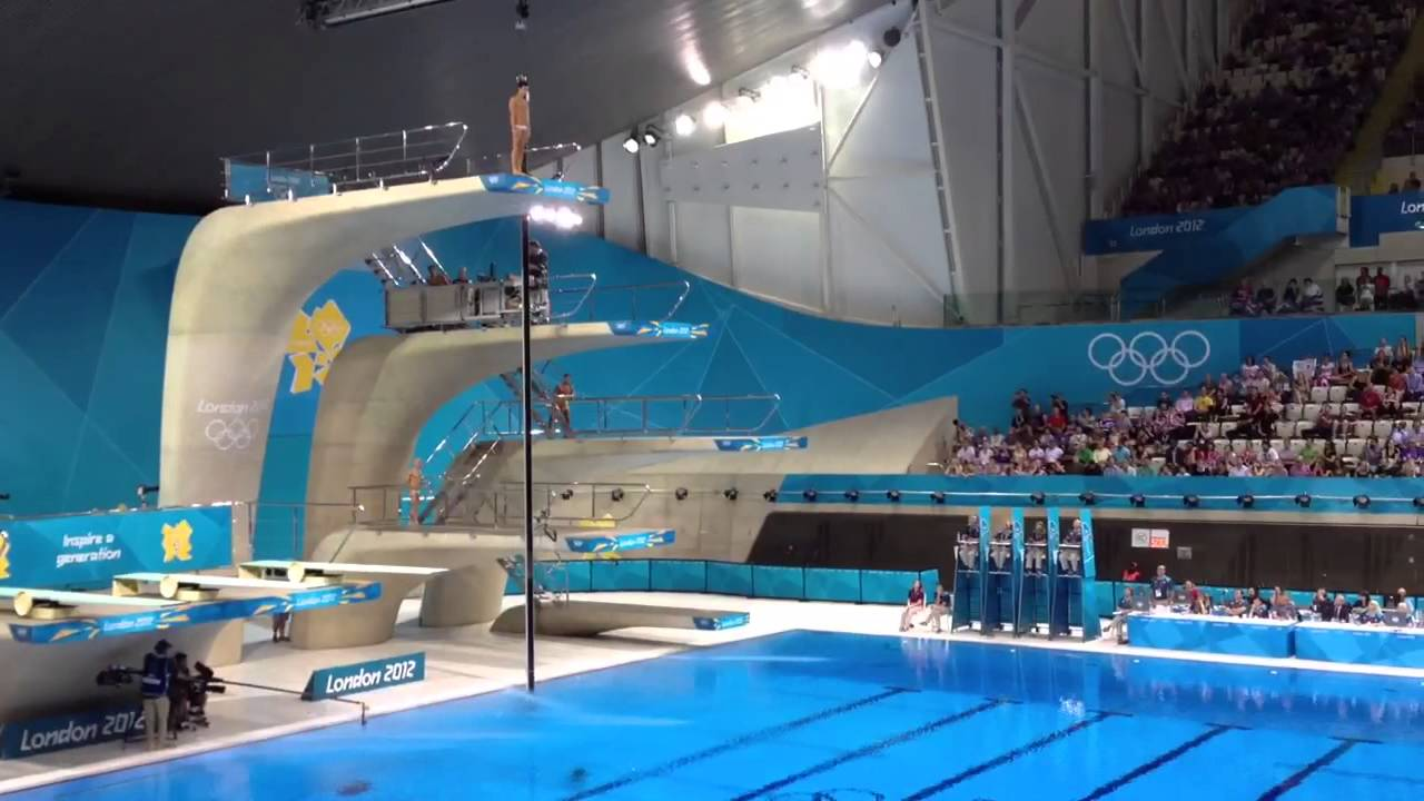 London 2012 Olympics Men S 10 Meters Diving Youtube