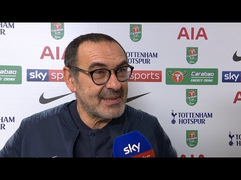 Maurizio Sarri furious with VAR and believes Harry Kane was offside! | Tottenham v Chelsea