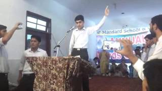 swat standard school college odigram swat student asghar khan speach