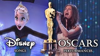 Disney/PIXAR songs - Oscars Performances Video