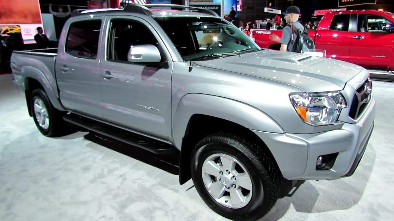 2014 Toyota Tacoma PreRunner TRD Spot   Exterior And Interior Walkaround  2013 LA Auto   YouTube