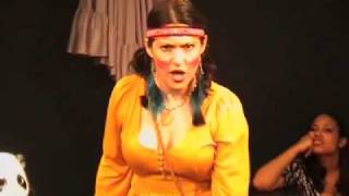 """Carole Ashley Lyonne sings """"Colors of the Wind,"""" from the Disney musical Pocahontas"""