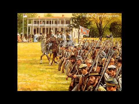 Confederate Song - The March Of The Southern Men
