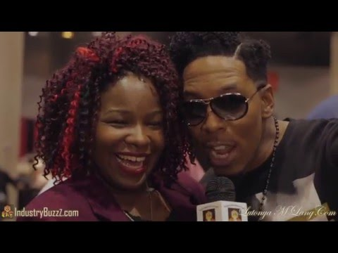 Lutonya Captures an exclusive interview with Deitrick Haddon At The BWE