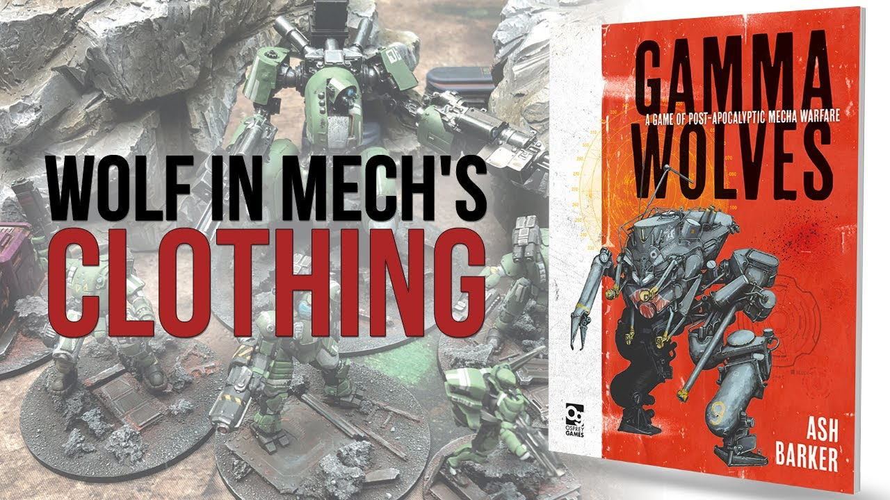 Gamma Wolves   Osprey Games   Flipthrough