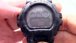 Годинник Casio G-SHOCK GD-X6900MC-1E [GD-X6900MC-1ER] - Інструкція, як налаштувати від PresidentWatches.Ru
