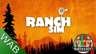 Ranch Sim Review (Early access) - Old Mack Donald had a ranch. (Video Game Video Review)
