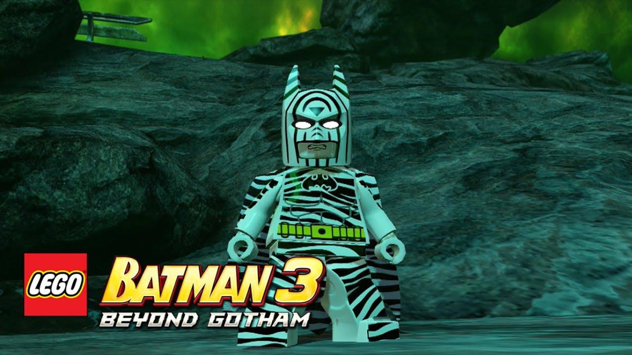 LEGO Batman 3: Beyond Gotham - Zebra Batman Oa free roam ...