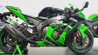 #Bikes@Dinos: 2016 Kawasaki Ninja ZX10R What's New, Walkaround Review, Exhaust Note
