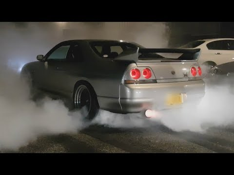 JDM Tuner Cars Leaving Meets 2017! Awesome Sounds!