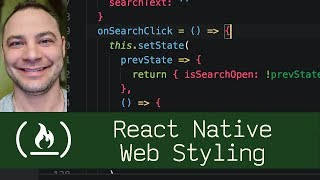 React Native Web Styling  (P7D12) - Live Coding with Jesse