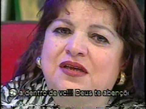 Mãe da Mara Maravilha e Mara no Domingo Legal 1998