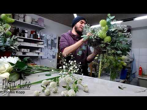 DIY - Blütenglanz in weiss - Blumenstrauss wie ein Profi binden