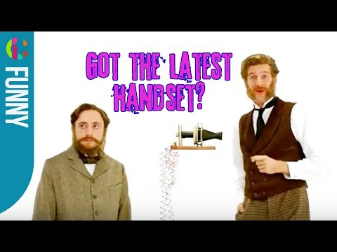Get the Latest Phone from Alexander Graham Bell | Horrible Histories