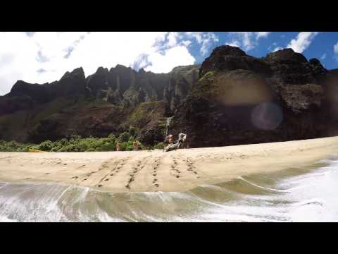 Napali Coast - Kayak & camping trip - Kauai- Hawaii