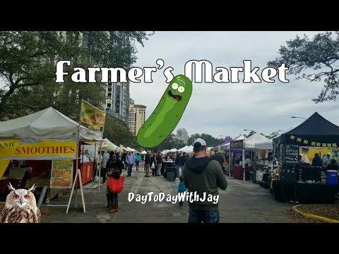 Farmer's Market downtown St. Petersburg, FL