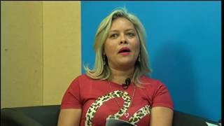 Secretaria Sandra Lira e Diretor do hospital Ielano Vasconcelos relatam quadro da saúde de Limoeiro do Norte
