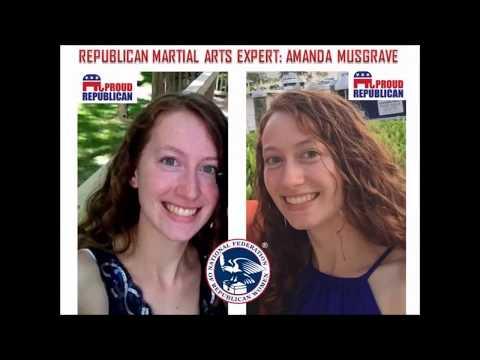 Republican Women's Self Defense Against Democrat Thugs. Feat. Amanda Musgrave.