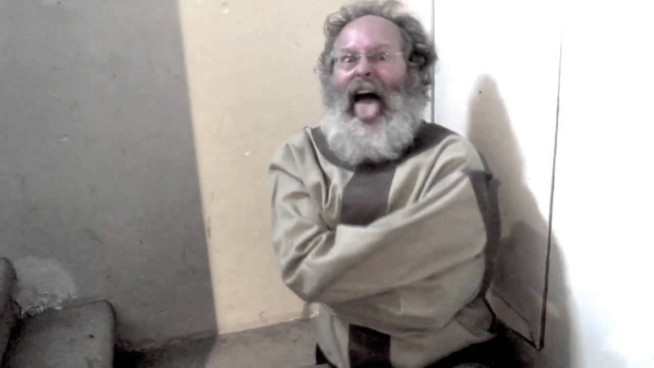 screaming old man in straightjacket youtube