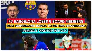 Fc barcelona loses 6 board members ...