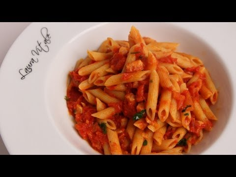 Pasta Arrabiata Recipe - Laura Vitale - Laura In The Kitchen Episode 340