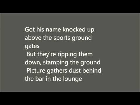 Stereophonics..Thousand trees(lyrics).