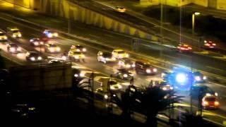 Accidente Trafico en  Circunvalación de Las Palmas de GC.Traffic collision