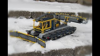 Snow Groomer | LEGO TECHNIC 42055 C MODEL
