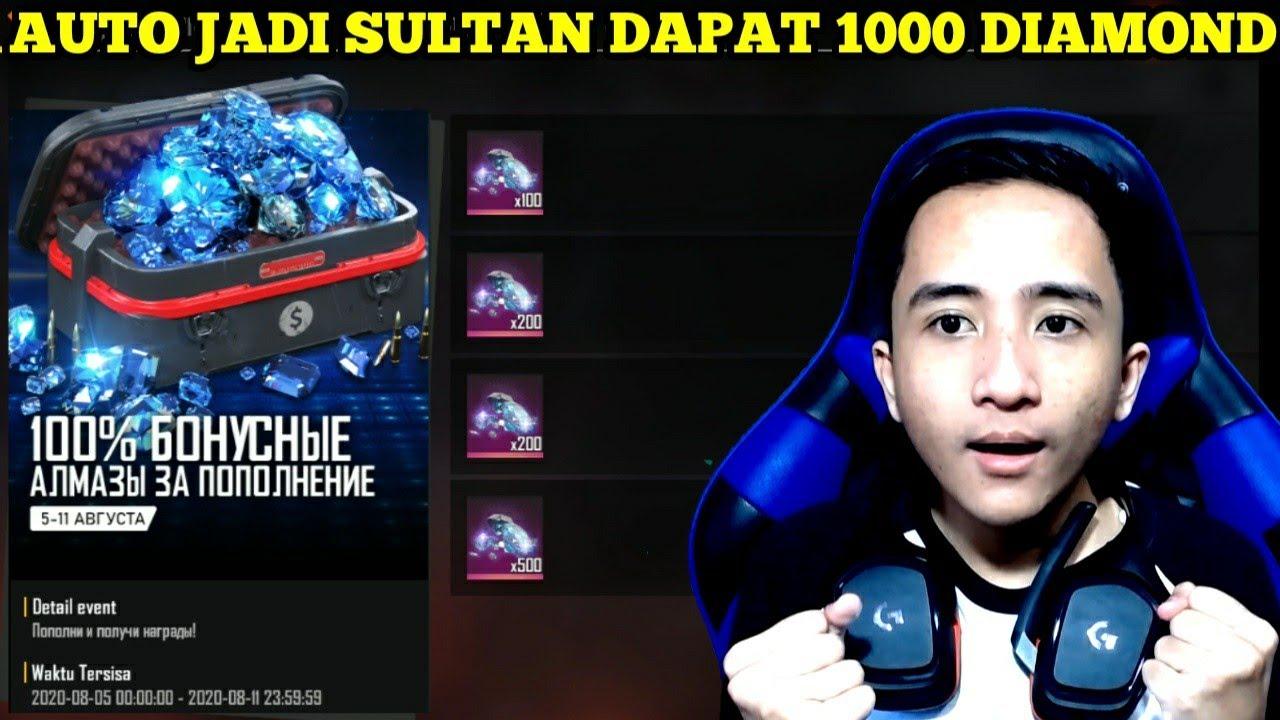MENJELAJAH SERVER RUSSIA DAPAT DIAMOND GRATIS DAN BANYAK HADIAH LAINNYA - FREE FIRE INDONESIA