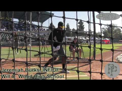 Jeremiah Burks Prospect Video, Inf OF, Will C Wood High School Class of 2015 @acbaseballgames