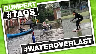 Nederland onder water door #WATEROVERLAST! | Dumpert Tags