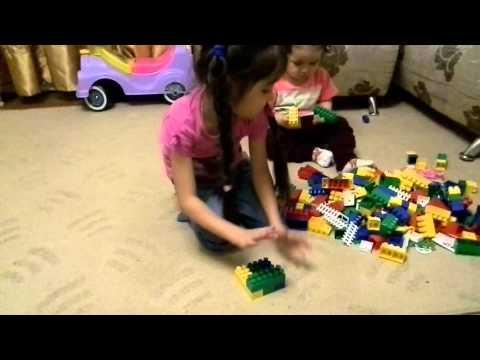 Строим Башню из кубиков)Игры башни/Build a Tower of cubes)to Play tower