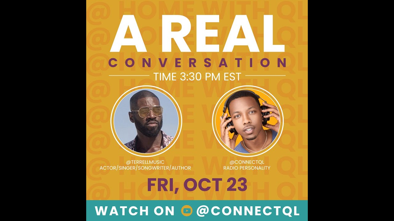 Terrell Carter Tells All About Relationships, Tyler Perry & His New Book - @ Home With QL