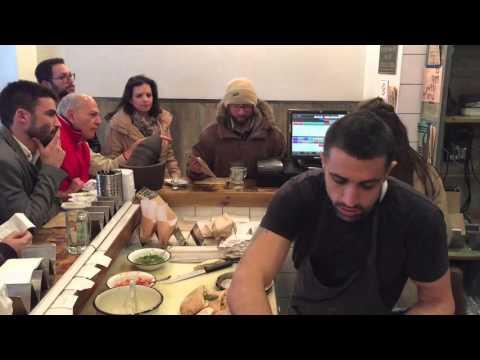 Tel Aviv street food