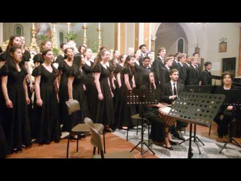 Germantown Friends School Choir - Camigliano - Lucca - Italy - 3 -