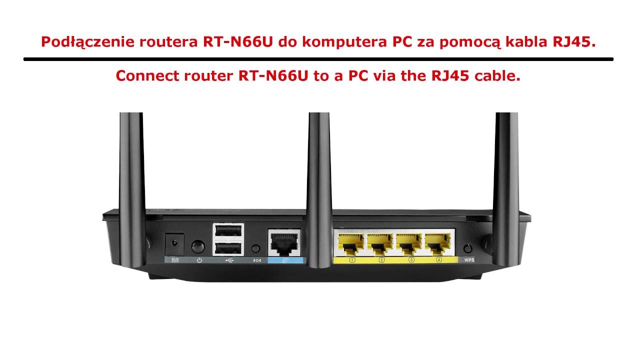 Jak zainstalować (wgrać) firmware OpenWrt na routerze ASUS RT-N66U