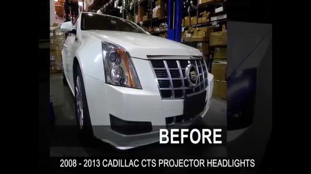maxresdefault specdtuning installation video_ 2008 2013 cadillac cts projector  at soozxer.org