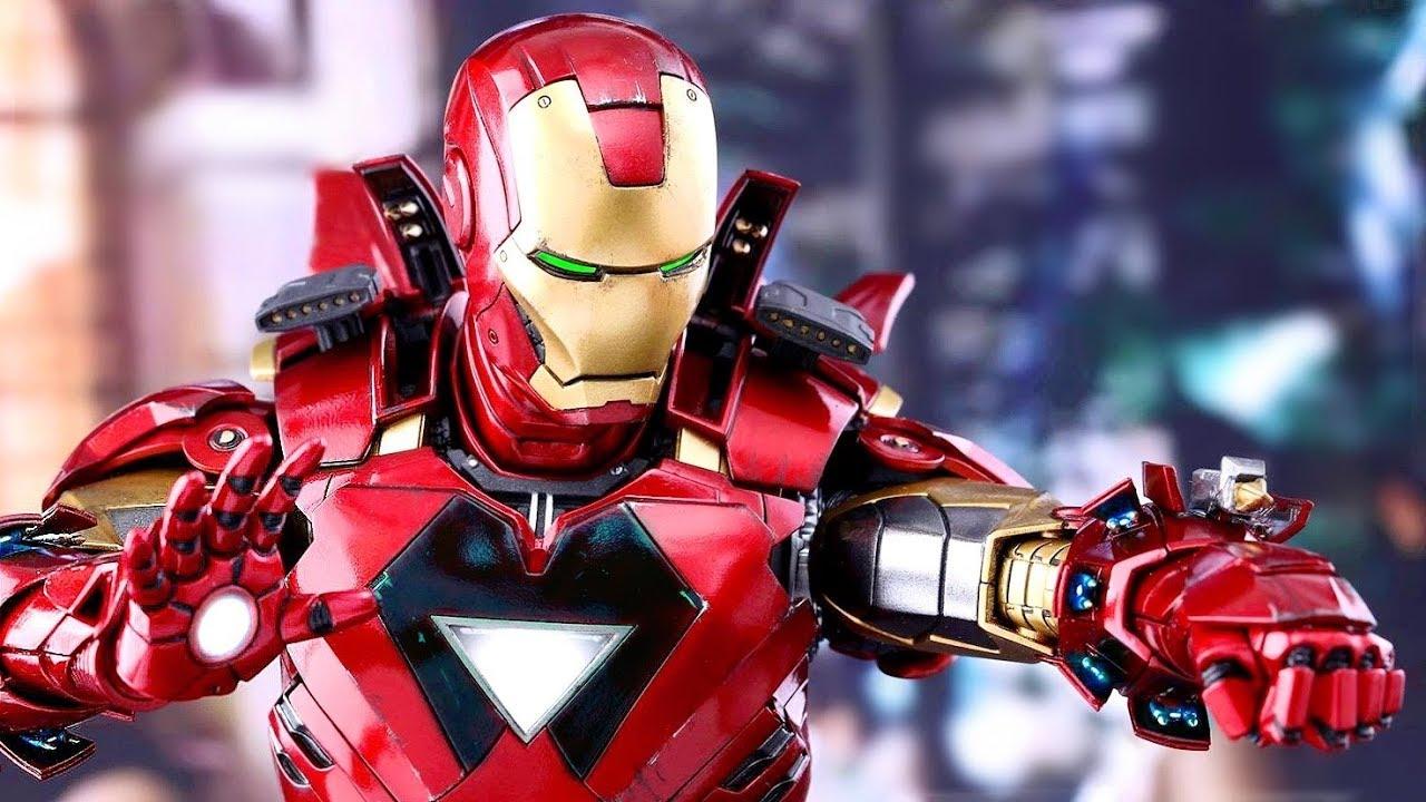 10 Iron Man Armor Suits बहतरन आयरन मन कवच