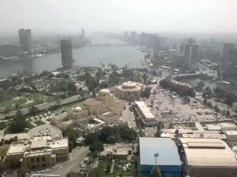 Beauty of egypt-Cairo from the surface of Cairo Tower