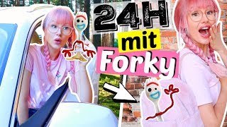 Verbringe NIEMALS 24 Stunden mit Forky 😳| ViktoriaSarina