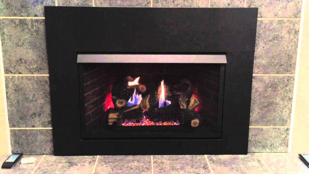 fireplace home p gas depot firebox insert in ventless the inserts free procom vent