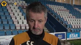 Scott Sellars on Tuesday's U23 defeat to Portsmouth.