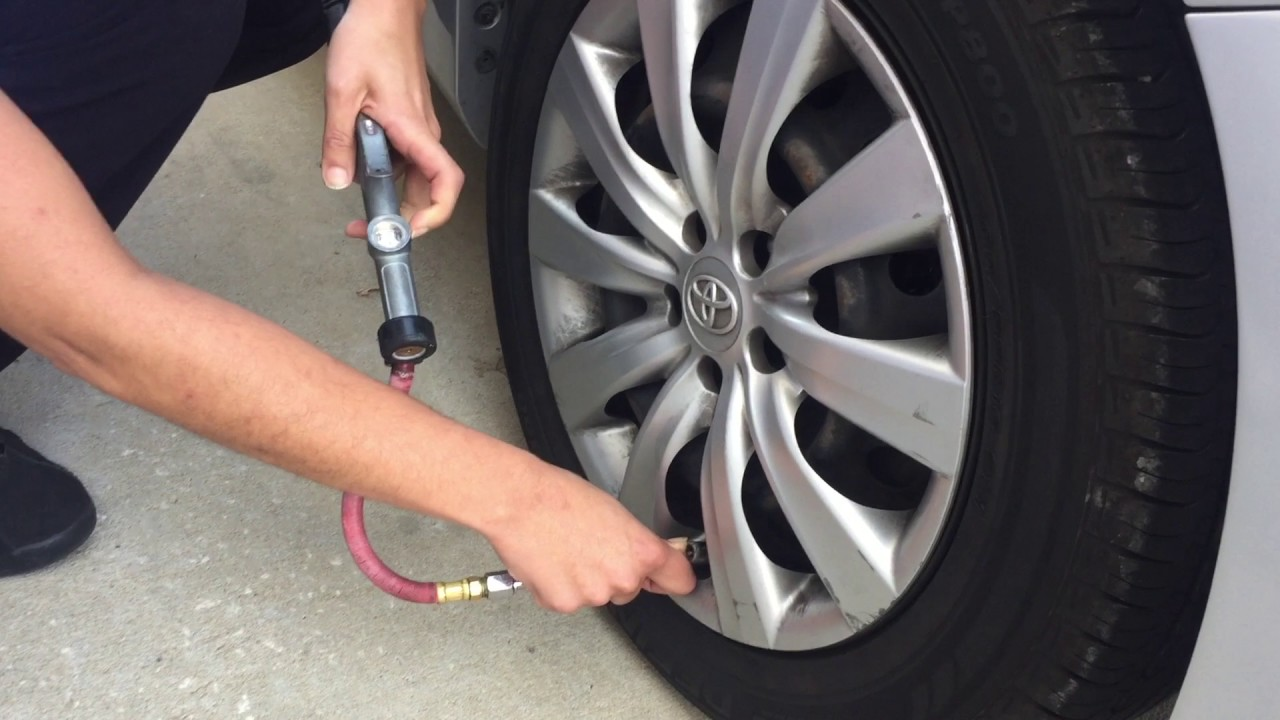 How To Check Your Tire Pressure Youtube