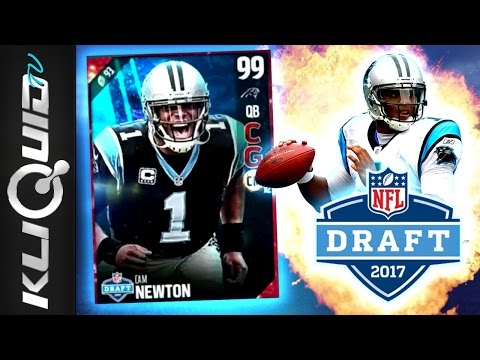 NFL DRAFT MASTER CAM NEWTON RATINGS + NEW SET for the BEST QB in Madden 17 Ultimate Team!