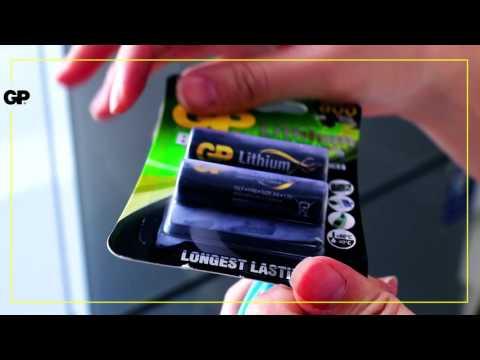 GP Batteries - GP Lithium батерейны хэрэглээ