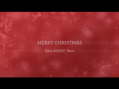 AIESEC Bern wishes you a MERRY CHRISTMAS