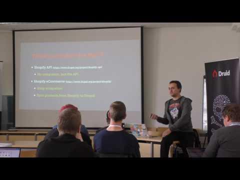 Ecommerce solution with Drupal 8 and Shopify by João Ventura (Wunder) - DrupalCamp Nordics 2017