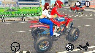 Modern City ATV Taxi Sim: Quad bike Simulator 2018 - Gameplay Android & iOS game