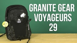 Розпакування Granite Gear Voyageurs 29 Black 923141